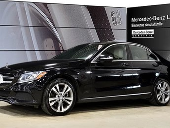 2015 Mercedes-Benz C300 4matic Sedan Certifie ! 4matic, Jantes 18, Bluetoo
