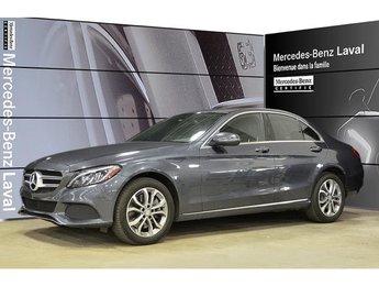 2016 Mercedes-Benz C300 4matic Sedan Certifie! DEL Actifs, Volant Chauffan