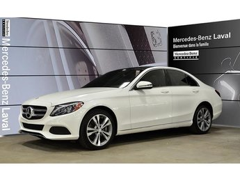 2016 Mercedes-Benz C300 4matic Sedan DEL, Navigation, Toit Panoramique, Ca