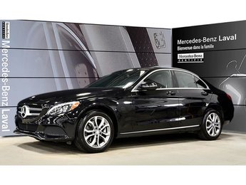 2017 Mercedes-Benz C300 4matic Sedan Garantie Certifie Inclus, LED, Naviga