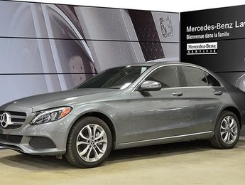 2017 Mercedes-Benz C300 4matic Sedan EX-Demo! Certifie, DEL