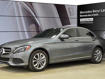 2017 Mercedes-Benz C300 4matic Sedan EX-Demo! Certifie, DEL
