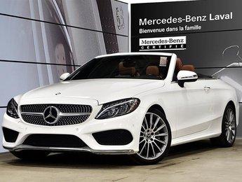 2017 Mercedes-Benz C300 4MATIC Cabriolet