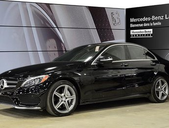 2015 Mercedes-Benz C400 4matic Sedan Navigation, Parktronic, Burmester, Ke
