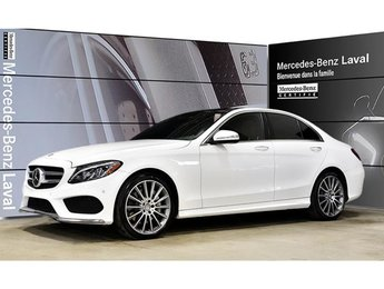 2015 Mercedes-Benz C400 4matic Sedan IDP Entrainement Intelligent, Distron