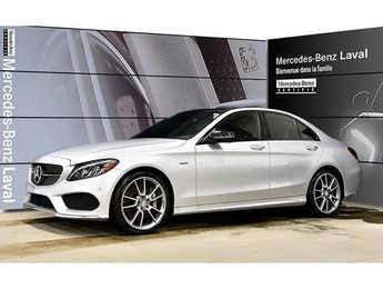 2016 Mercedes-Benz C450 AMG 4matic Sedan Premium, Navigation, Toit Panoramique