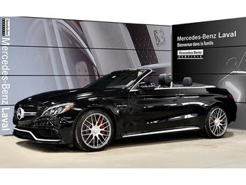 2017 Mercedes-Benz C63 AMG Cabriolet Msrp:$107,740, Premium, Camera 360, Head