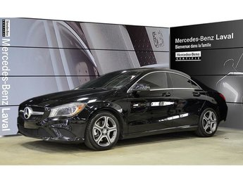 2014 Mercedes-Benz CLA250 4matic Coupe Certifie, 4matic, Phares bi-Xenon, Bl