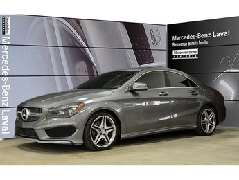 2015 Mercedes-Benz CLA250 4matic Coupe Jantes AMG 18, Peinture Metallisee, S