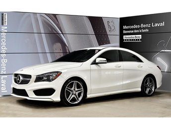 2015 Mercedes-Benz CLA250 4matic Coupe Sport, Style AMG, Jantes AMG 18, Gara