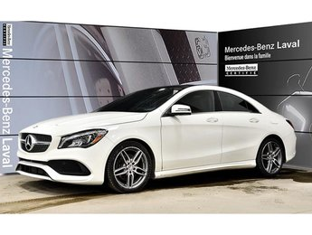 2017 Mercedes-Benz CLA250 4matic Coupe Certifie, Camera Recul, Toit Panorami