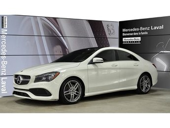 2018 Mercedes-Benz CLA250 4matic Coupe Toit Panoramique, Sport, Jantes AMG 1