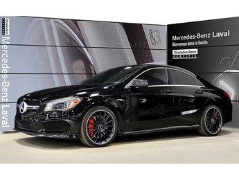 2015 Mercedes-Benz CLA45 AMG 4matic Coupe Fibre de Carbone AMG, Bas KM!Certifie