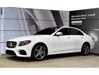 2017 Mercedes-Benz E400 4matic Sedan Certifie, Camera Recul, Toit Panorami