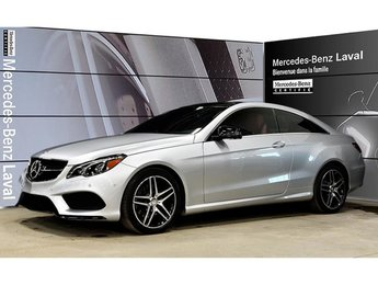 2017 Mercedes-Benz E400 4matic Coupe Pdfs:$74,000!!Camera 360, Cuir Rouge,