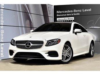 2018 Mercedes-Benz E400 4matic Coupe Cuir, Camera 360, Peinture Designo, H