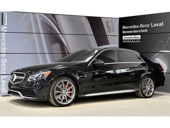 2015 Mercedes-Benz E63 AMG S-Model 4matic Sedan IDP, Cuir Nappa, Fibre de Car