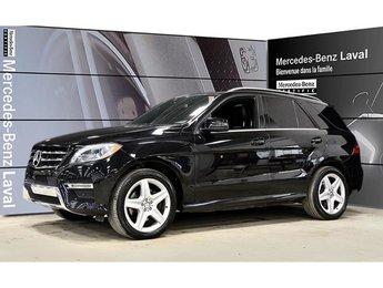 2015 Mercedes-Benz ML350 Bluetec 4matic Camera 360, Navigation, Toit Panora
