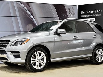 2015 Mercedes-Benz ML350 Bluetec 4matic Bi-Xenon, Toit Ouvrant, Hitch