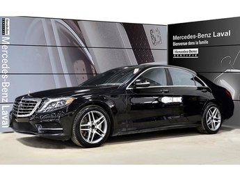 2017 Mercedes-Benz S550 4matic Sedan (LWB) Cuir Nappa, IDP Distronic Plus,