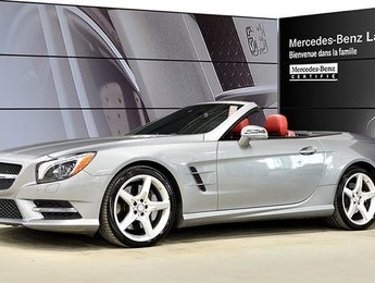 2015 Mercedes-Benz SL550 Roadster Cuir Nappa Designo, Distronic Plus, Camer