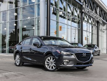 2016 Mazda Mazda3 Heads up display, Navigation, Perforated Leather, Sunroof