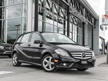 2014 Mercedes-Benz B250 Premium pkg, Driving assistance pkg, Pano sunroof
