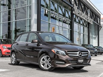 2018 Mercedes-Benz B250 EXECUTIVE DEMO, AVANTGARDE EDITION, LOADED