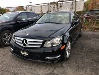 2013 Mercedes-Benz C300 Sport package, Premium package, Bluetooth audio