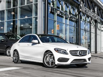 2015 Mercedes-Benz C300 Sport pkg, AMG styling pkg, Premium pkg
