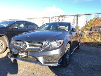 2015 Mercedes-Benz C300 Navi, Sat radio, Rear view camera