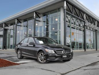 2016 Mercedes-Benz C300 All wheel drive, Rear view camera, Navigation