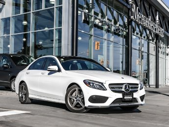 2016 Mercedes-Benz C300 Navi, panoramic sunroof, sport package