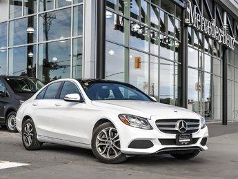 2017 Mercedes-Benz C300 Premium package, Navi, All-wheel drive