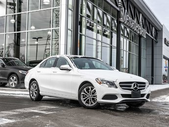 2017 Mercedes-Benz C300 Premium one pkg, Sunroof, Heated front seats