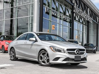2015 Mercedes-Benz CLA250 SAT radio, Navigation, Rear view camera