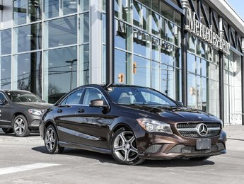 2015 Mercedes-Benz CLA250 PREMIUM PACKAGE, REAR VIEW CAM, PANO ROOF ***  CERTIFIED PRE-OWNED *** Buy with confidence, drive with pride.  As a Mercedes-Ben