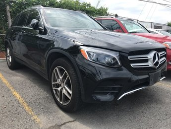 2016 Mercedes-Benz GLC300 4Matic Panoroof Navi Leather Parktronic Climate seats