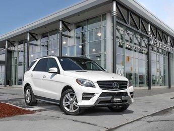 2015 Mercedes-Benz ML350 4Matic, Navi, Pano, 360 Camera, Parktronic, Star Certified