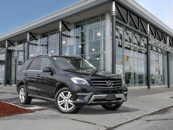 2015 Mercedes-Benz ML350 Only 1 Owner, heated steering wheel, premium package