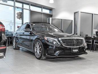 2016 Mercedes-Benz S63 AMG Intelligent drive pkg, Night view assist, Air balance pkg