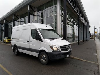 2018 Mercedes-Benz Sprinter V6 2500 Cargo 144 HIGH ROOF OPTION, AUX HEATER, TWIN FRONT SEATS