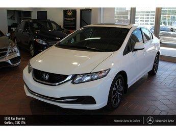 2013 Honda Civic CIVIC EX, toit ouvrant, caméra