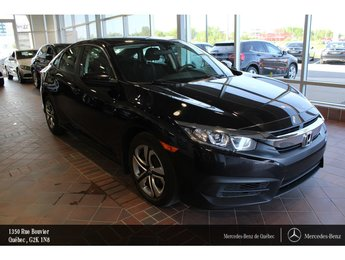 2016 Honda Civic Civic LX 2.0, sièges chauffants, caméra