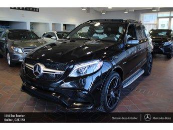 2017 Mercedes-Benz GLE-Class GLE63 4MATIC, navi, caméra 360, Sirius