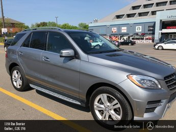 2014 Mercedes-Benz M-Class ML350 BT 4MATIC, garantie prolongée MB 24m/160000