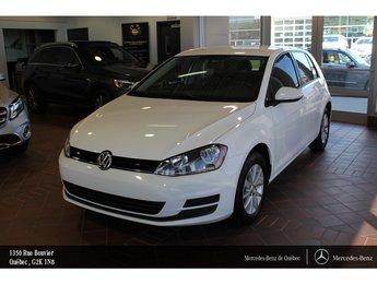 2016 Volkswagen Golf Golf 1.8 Confortline, caméra, Sirius