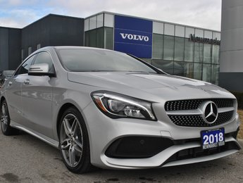 2018 Mercedes-Benz CLA-Class 4MATIC Clean Car
