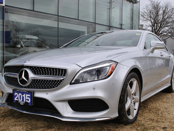 2015 Mercedes-Benz CLS-Class 400 4MATIC Low KM Prem. Pack Sport Pack
