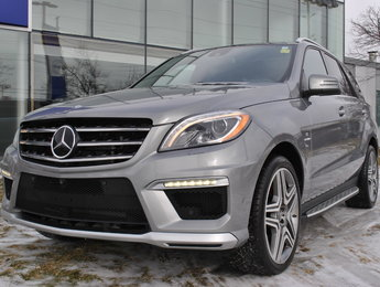 2014 Mercedes-Benz M-Class ML63 AMG LOW KM